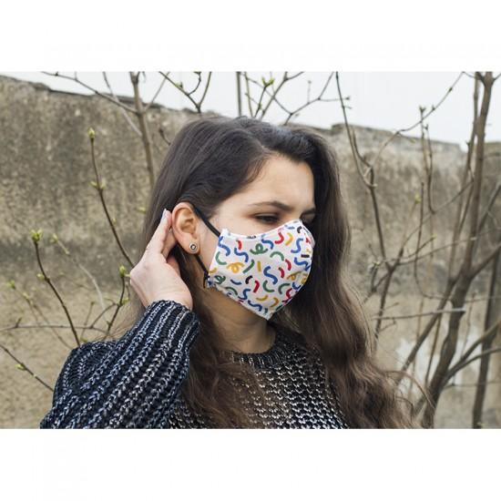 Mască de protecţie reutilizabilă
